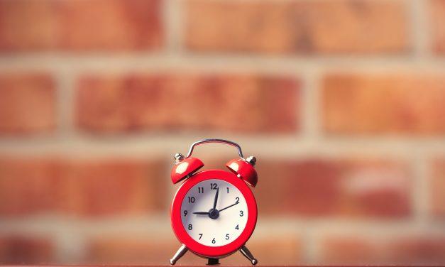 Un réveil pour être à l'heure
