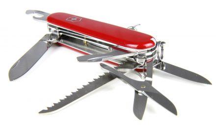 Le couteau suisse, un instrument pratique qui a su conserver son utilité
