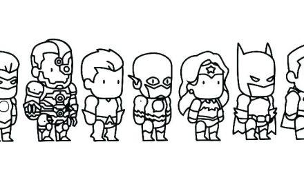 Jeux de coloriage, quand les petits garçons sont fascinés par les super héros